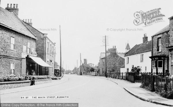Bubwith, the Main Street c1955