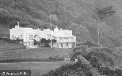 Buck's Mills, Peppercombe Castle 1906