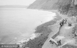 Buck's Mills, The Beach 1935