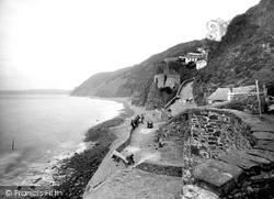 Buck's Mills, The Cliffs 1935