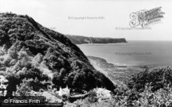 Buck's Mills, The View Towards Clovelly c.1960
