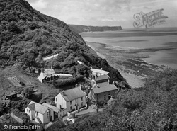 Buck's Mills, Village And Clovelly Bay 1930