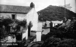 Buck's Mills, Village Corner 1930