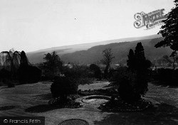 Buckden, A View From The Veranda, Buckden House c.1955
