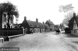 Buckden, Church Street 1906