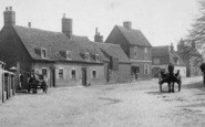Buckden, Church Street 1906