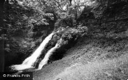 Buckden, Fairy Falls c.1955