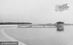 Grafham Reservoir, Valve Tower c.1960, Buckden