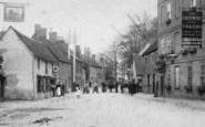 Buckden, High Street, People 1906