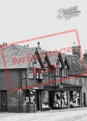 High Street Shops c.1950, Buckden