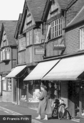 High Street Shops c.1955, Buckden