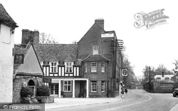 Buckden, Old Forge And George Hotel c.1950