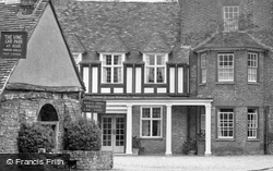 Old Forge And George Hotel c.1950, Buckden