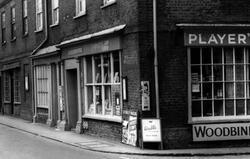 Post Office And Corner Shop c.1955, Buckden