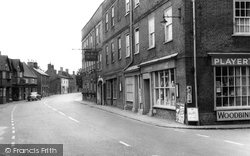 Post Office And George Hotel c.1955, Buckden