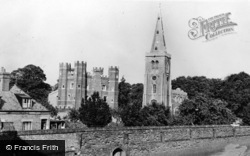 Buckden, St Mary's Church And Tower c.1955