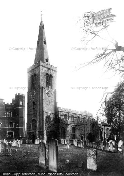 Buckden, St Mary's Parish Church 1906