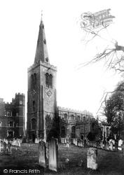 St Mary's Parish Church 1906, Buckden