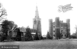 St Mary's Parish Church And Tower 1906, Buckden