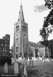 Buckden, St Mary's Parish Church c.1960