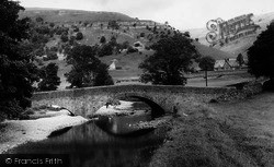 Buckden, The Bridge c.1955