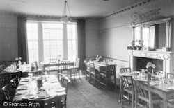 The Dining Room, Buckden House c.1955, Buckden