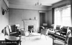 Buckden, The Drawing Room, Buckden House c.1955