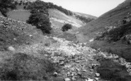 Buckden, The Ghyll And Pike c.1955