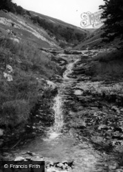 The Ghyll And Waterfall c.1955, Buckden