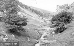 Buckden, The Ghyll c.1955