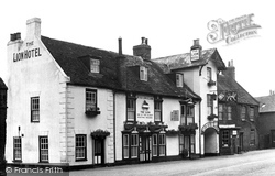 Buckden, The Lion Hotel c.1950