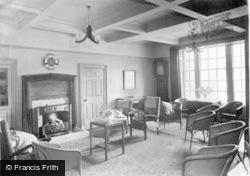 The Lounge, Buckden House c.1955, Buckden