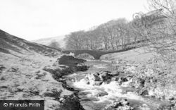 Buckden, The River At Yockenthwaite c.1955