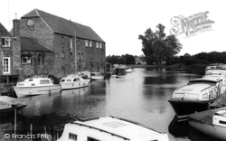 Buckden, The River Ouse c.1960