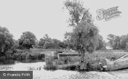 The River Ouse c.1960, Buckden