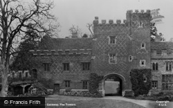 Buckden, The Towers, The Inner Gateway c.1950