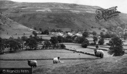 Buckden, The Village And Pike c.1955