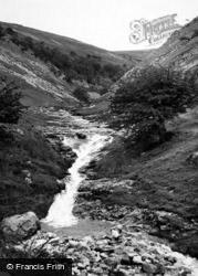Buckden, The Waterfall c.1955