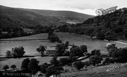Buckden, The Wharfe Valley c.1955