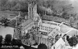 Abbey, Aerial View c.1950, Buckfast