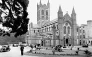 Buckfast, Abbey c.1955