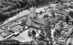 Cbbey, Aerial View c.1950, Buckfast
