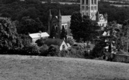 Buckfast, The Abbey c.1950