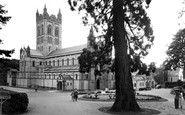 Buckfast, The Abbey c.1955