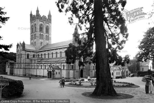 Buckfast, the Abbey c1955