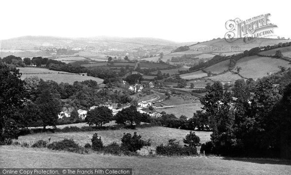Buckfastleigh, General view c1955