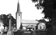 Buckfastleigh, Parish Church 1954