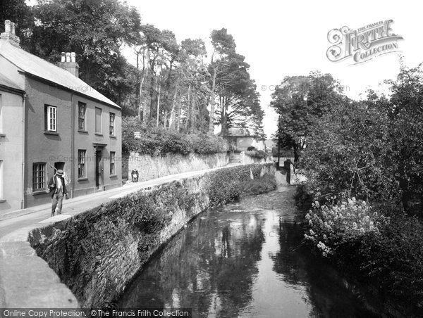 Buckfastleigh, on the River Mardle 1931