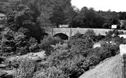 Buckfastleigh, the Bridge over the River Dart c1955