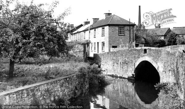 Buckfastleigh, the Bridge, Station Road c1960